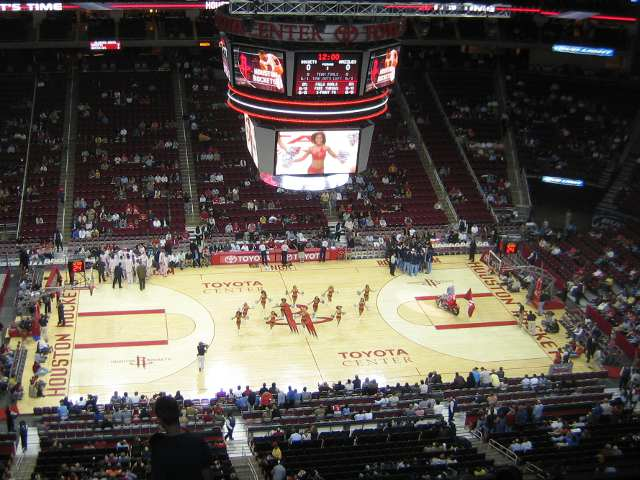 Houston Rockets Upper Seats