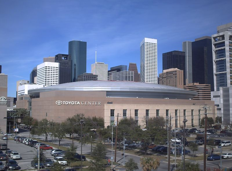 Toyota Center: Home of the Houston Rockets